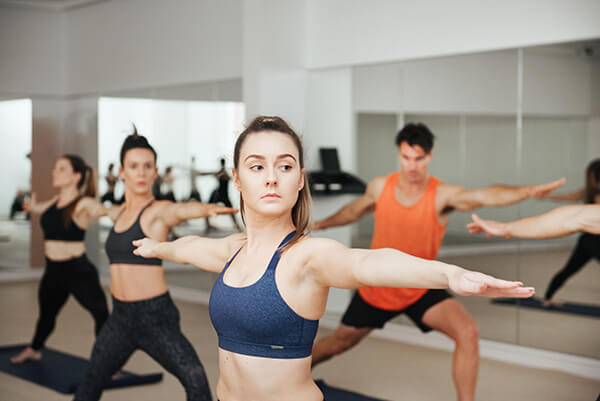 Yoga Online Booking - TotalFusion